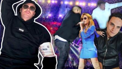 Wisin no es el único, aquí otros cantantes que han sufrido terribles caídas en el escenario