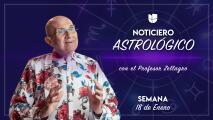 Noticiero astrológico: semana del 18 al 24 de enero