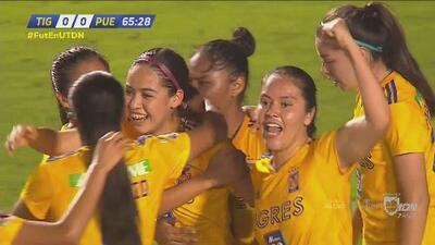 ¡Llegó el invitado! Greta Espinoza consigue el gol que llevará a Semifinales para Tigres