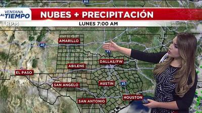 'Dallas en un Minuto': un día fresco, el pronóstico del clima para este lunes