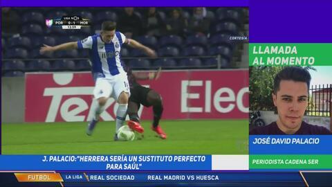 Periodista de la Cadena SER asegura que Héctor Herrera tiene el ADN del 'Cholo' Simeone