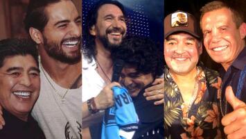 Con emotivos mensajes, así despiden Maluma, El Buki y varias celebridades más a su amigo Diego Armando Maradona