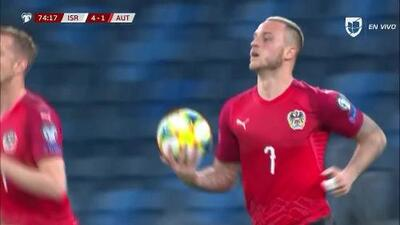 ¡GOOOL! Marko Arnautovic anota para Austria