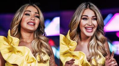 Así fue la presentación de Migbelis Castellanos, la primera Miss Venezuela en Nuestra Belleza Latina