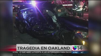 Trágico accidente en Oakland destroza una familia de inmigrantes