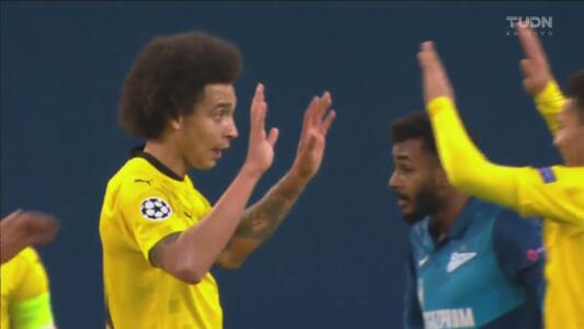 ¡Ya ponen orden! Witsel consigue adelantar 1-2 al Borussia Dortmund