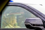 Montana, MT - *PREMIUM EXCLUSIVE* Ben Affleck and Jennifer Lopez are spotted driving to the airport together in Montana on Mother's Day weekend. Pictured: Ben Affleck, Jennifer Lopez 8 MAY 2021 Backgrid/ Grosby Group