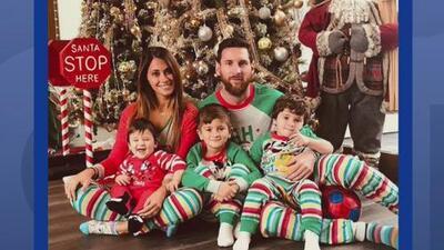 La foto de Messi con su familia en Navidad que se ha hecho viral