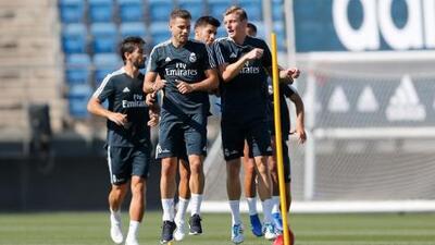 ¡Ya era hora! Por fin le llegaron cuatro 'refuerzos mundialistas' al Real Madrid
