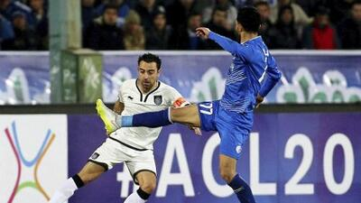 Xavi Hernández iguala marca de Javier Zanetti