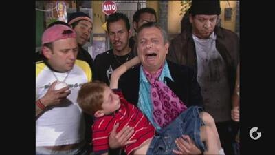 Vecinos | Frankie Rivers recrea escena de Pepe 'El Toro'