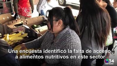 Familias del este de Los Ángeles recibirán frutas y verduras gratuitamente de forma mensual
