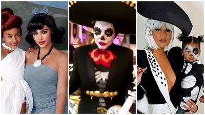 Los disfraces que usaron las Kardashian y más celebridades: mira los atuendos que predominaron en Halloween