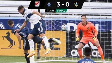 Chicharito no pudo volver a marcar y Vancouver goleó a LA Galaxy