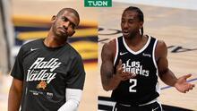 Chris Paul y Kawhi Leonard preocupan en Suns y Clippers