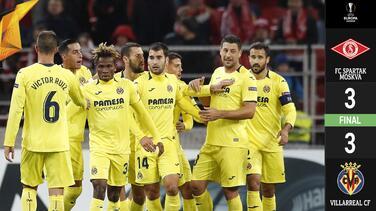 Villarreal rescata agónico empate con Layún en cancha