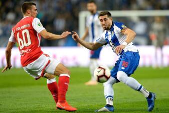 En fotos: Herrera y Corona rindieron en triunfo 3-0 de Porto contra Braga en Copa de Portugal