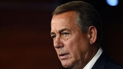 """El republicano John Boehner asegura que el gobierno de Trump """"ha sido un completo desastre"""""""