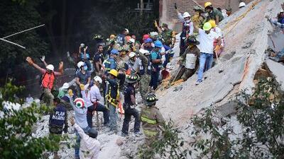 Un poderoso terremoto de 7.1 de magnitud sacude a México