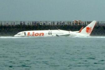 Un avión de Lion Air cae al mar en Bali