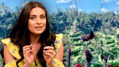 ¿Los interrumpió? Ana Brenda presume su foto frente a una pareja que derrochaba pasión en Bali