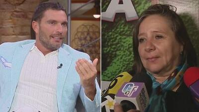 Julián Gil no conoce (ni quiere conocer) a la mamá de Geraldine Bazán luego que arremetió contra él y se arrepintió