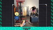 Los riesgos de distraerse en el gimnasio