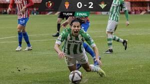 Con Lainez titular, el Betis avanzó a Octavos en la Copa del Rey