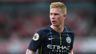 Manchester City prende alarmas: Kevin De Bruyne se lesionó en un entrenamiento