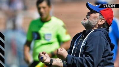 Maradona gana su primer juego con Gimnasia La Plata
