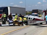 Avioneta aterriza de emergencia sobre la autopista I-355, cerca de Lockport