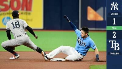 Charlie Morton hace sufrir a los bateadores de los Yankees y Tampa gana 2-1