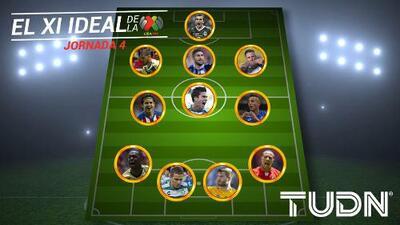 Gignac y Furch aseguran los goles en el Once Ideal de la Jornada 4