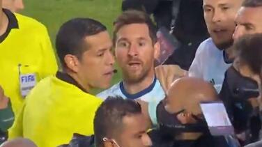 Eliminatorias: Messi protagoniza bronca en triunfo ante Bolivia
