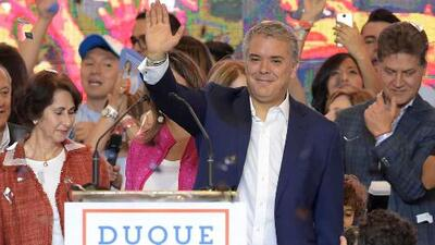 Iván Duque gana la segunda vuelta y es el presidente electo de Colombia