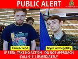 De desaparecidos a sospechosos: buscan a dos adolescentes por el asesinato de una pareja y un hombre en Canadá