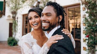 Miguel gets hitched to longtime girlfriend
