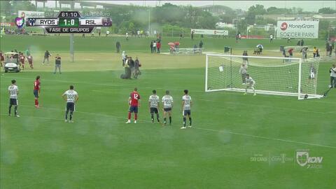 ¡Por poco lo tapa de nuevo! Real Salt Lake le empata 1-1 a Rayados de penal