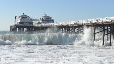 Se espera alto oleaje en varias playas del sur de California