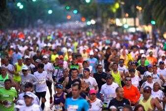 En fotos: La fiesta del Maratón de la CDMX en su edición 36