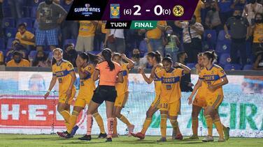 Tigres no tuvo oposición y concretó su pase a la Semifinal