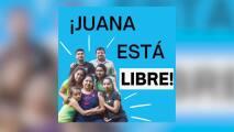 """""""Esta es una gran victoria"""": hispana en santuario desde 2017 recupera la libertad"""