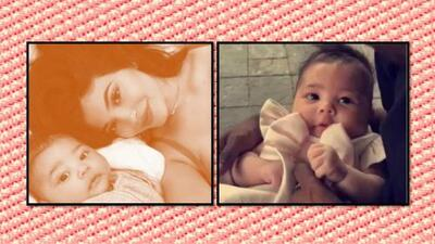 A nueve semanas de nacida, Stormi al fin conoce a su familia paterna