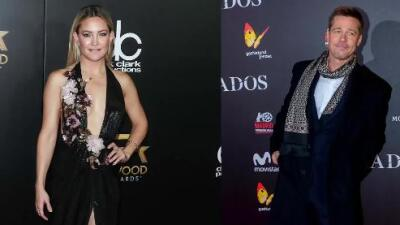 Kate Hudson y Brad Pitt no están saliendo