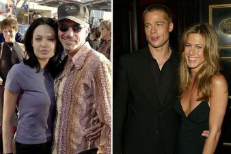 Los amores pasados de Brad Pitt y Angelina Jolie