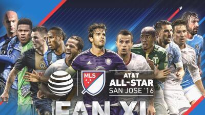 Los aficionados de la MLS eligieron su once ideal para el Partido de las Estrellas