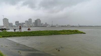 Inundaciones y aumento de la marea, los problemas que enfrenta Louisiana ante la amenaza de Barry