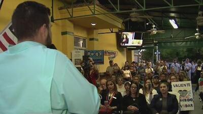 Jóvenes venezolanos en Florida apoyaron las manifestaciones de su país con una conferencia en la FIU