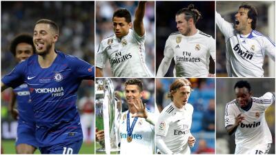 Desde Anelka hasta Hazard pasando por CH14: estos son los jugadores Premier en el Real Madrid