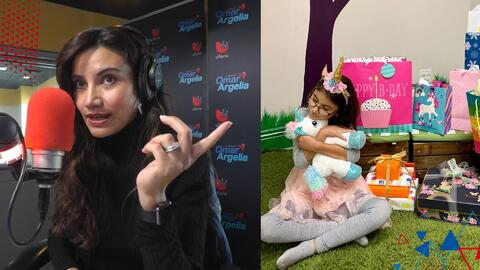 Argelia se dio cuenta al aire de que su hija menor podría tener una 'cómoda adicción'